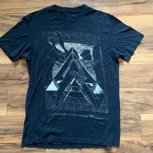 Marc Ecko cut and sew graphic T-shirt
